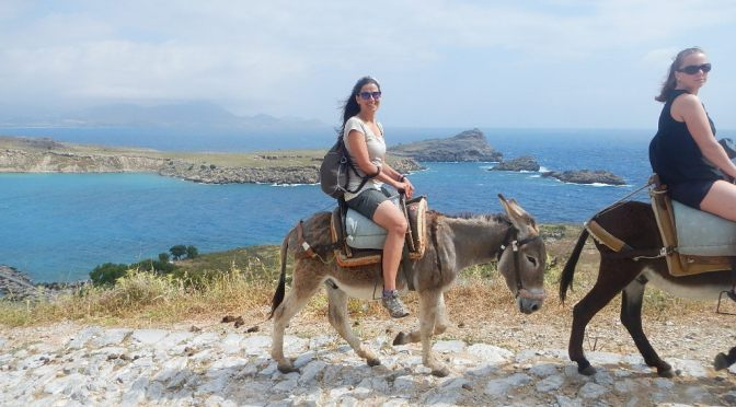 I Rode a Donkey to the Top of the Acropolis – No – Not THAT Acropolis