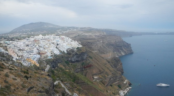 Santorini – the Volcano that May have Changed the Modern World