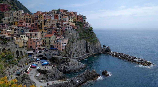 Ken's Field Notes – Santorini and Cinque Terre