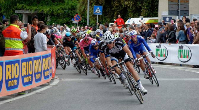 What do Bananas, Lemon Beer, Cookies, Ice Tea and Pate have in Common?  Our Day in Foligno Italy – Stage 7 of the Giro