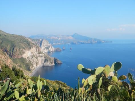 Vulcano, viewed from Lipari Island