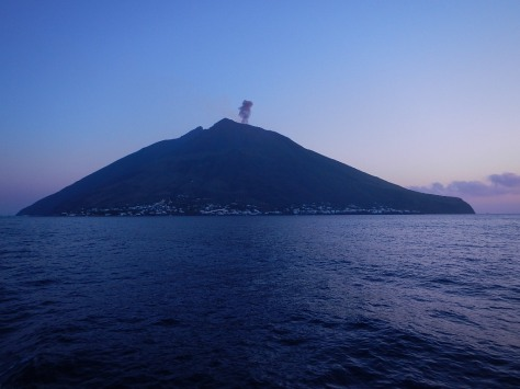 It is said that the eruptions from Stromboli can be used to predict the winds for the next three days.