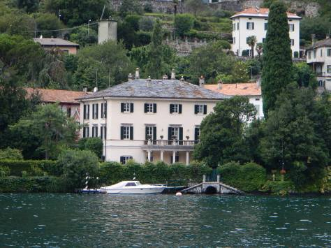George Clooney's Villa on Lake Como - Villa Oleandra