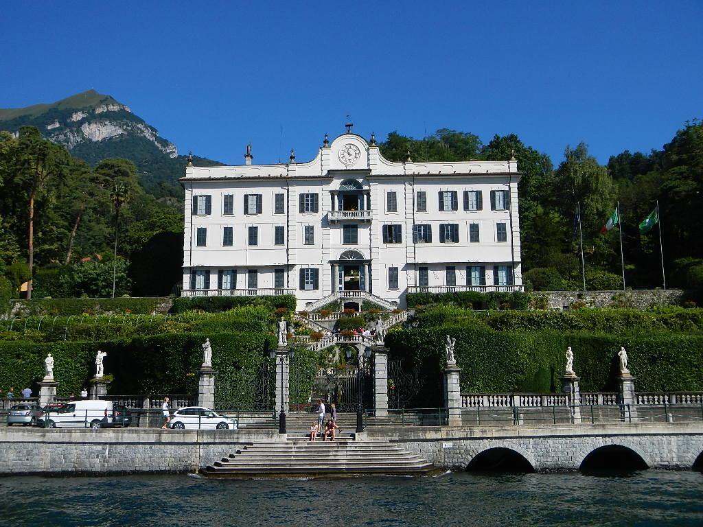 George Clooney S Villa On Lake Como Villa Oleandra