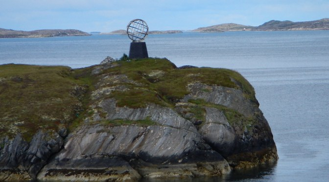 Hurtigruten Cruise – Day 10 – Crossing the Arctic Circle (Again), Seven Sisters, and a Mountain with a Hole