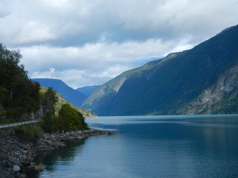 Lustrafjord (our cabin on day 3 overlooked the fjord) is one of the more scenic portions of Sognefjord.