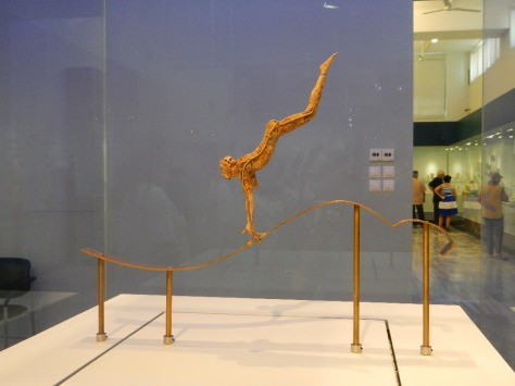 Statue of acrobat - Heraklion museum
