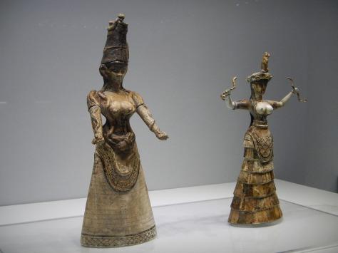 Snake Goddesses - Heraklion Museum