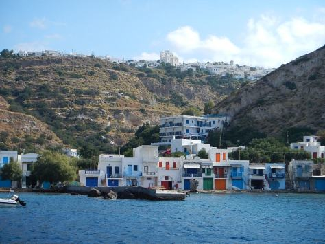 summer fishing village near Plaka