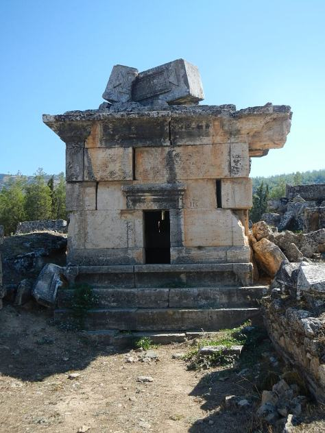 Tomb of the curses - Heirapolis, Pumukkale