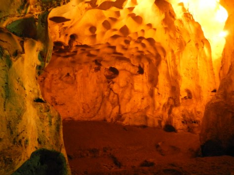 One of the chambers of Karian Cave